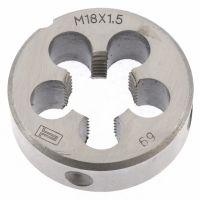 Плашка М18 х 1,5 мм Сибртех - 77048