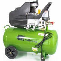 Компрессор воздушный КК-1500/50,1,5 кВт, 198 л/мин, 50 л, прямой привод, масляный Сибртех - 58039