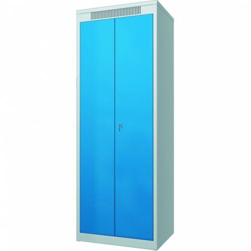 Шкаф металлический гардеробный ШМГ- 320, двустворчатая дверь, отсек для головного убора. - 97419