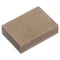 Губка для шлифования, 125 х 100 х 10 мм, мягкая, 3 шт, P 60/80, P 60/100, P 80/120 Matrix - 75715