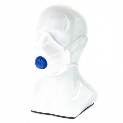 Полумаска фильтрующая (респиратор), с клапаном выдоха, FFP1, 10 шт Россия Сибртех - 89252