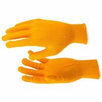 Перчатки Нейлон, 13 класс, оранжевые, XL Россия - 67840