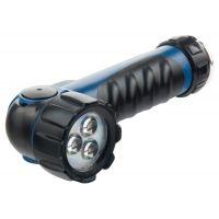 Фонарик светодиодный, противоударный, влагозащищенный, 3 ярких Led, 2 х LR20 Stern - 90521