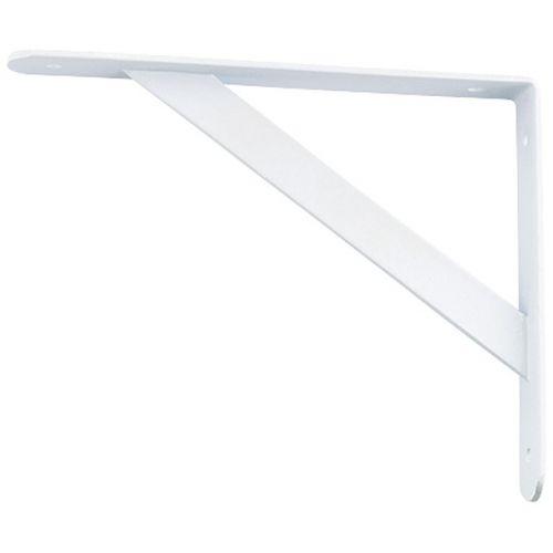 Кронштейн усиленный, 250 х 150 х 30 х 4 мм, белый Сибртех - 94044