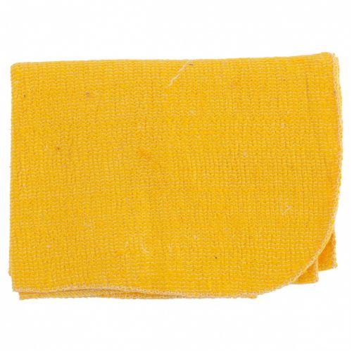 Салфетка для пола х/б желтая 500 х 700 мм Россия Elfe - 92329