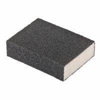 Губка для шлифования, 100 х 70 х 25 мм, мягкая, P120 Matrix - 75704