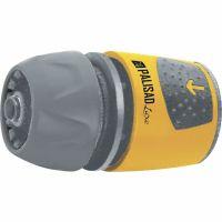 Соединитель быстросъемный для шланга 1/2-3/4, аквастоп, АВС-пластик Palisad Luxe - 66267