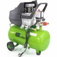 Компрессор воздушный КК-1500/24, 1,5 кВт, 198 л/мин, 24 л, прямой привод, масляный Сибртех - 58037