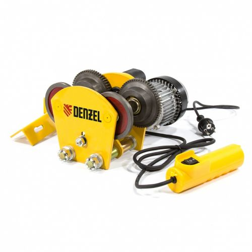 Каретка электрическая для тельфера Т-1000,1 т, 540 Вт Denzel - 52009