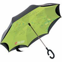 Зонт-трость обратного сложения, эргономичная рукоятка с покрытием Soft ToucH Palisad - 69700