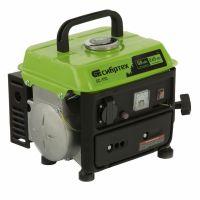 Генератор бензиновый БС-950, 0,8 кВт, 230 В, 2-х тактный, 4 л, ручной стартер Сибртех - 94665