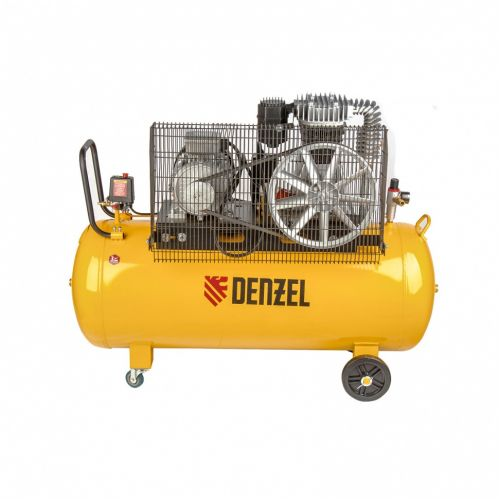 Компрессор DR4000/200, масляный ременный, 10 бар, производительность 690 л/м, мощность 4 кВт Denzel - 58093