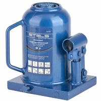 Домкрат гидравлический бутылочный телескопический, 8 т, H подъема 170-430 мм Stels - 51118