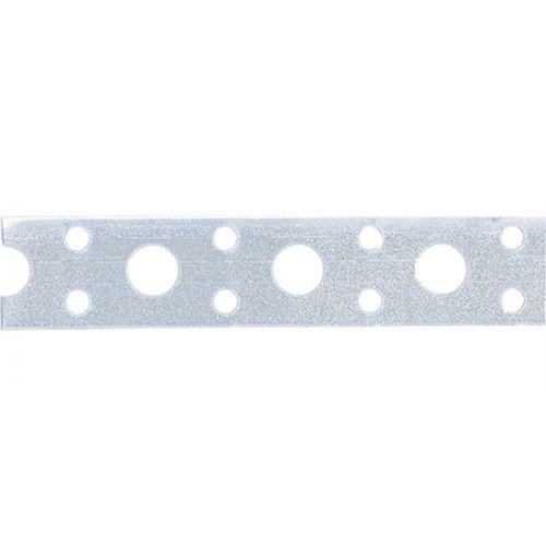 Лента перфорированная, вентиляционная, прямая, 0,55 мм, LP V, 1,7 см х 25 м, цинк Россия Сибртех - 46549
