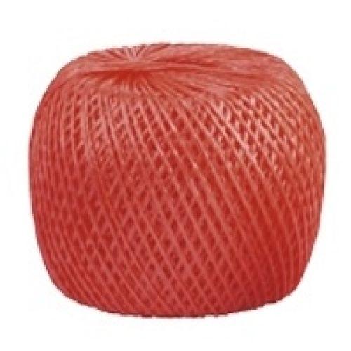Шпагат полипропиленовый, красный 400 м, 1200 текс Россия Сибртех - 93983