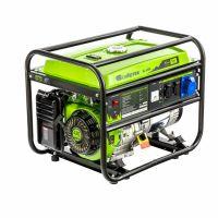 Генератор бензиновый БС-6500, 5,5 кВт, 230В, четырехтактный, 25 л, ручной стартер Сибртех - 94546