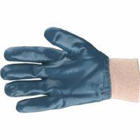 Перчатки трикотажные с обливом из бутадиен-нитрильного каучука, манжет, L Сибртех - 67831