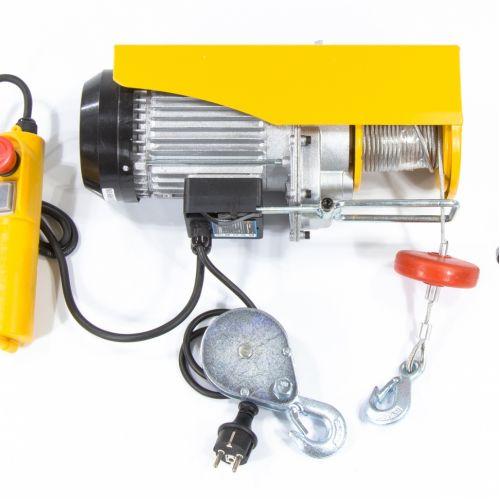 Тельфер электрический TF-500, 0,5 т, 1020 Вт, высота 12 м, 10 м/мин Denzel - 52012