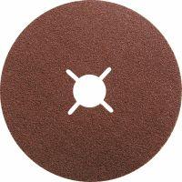 Круги фибровые 5 шт, Р 80, 180 х 22 mm Matrix - 73922