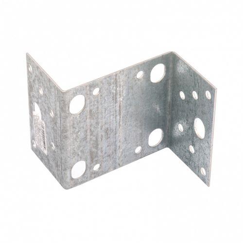 Крепежный уголок Z-образный, KUZ 55 х 105 х 90 мм, цинк Россия Сибртех - 46538