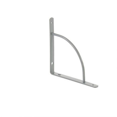 Кронштейн арочный, выгнутый, 200 х 200 х 20 мм, серый Сибртех - 94058