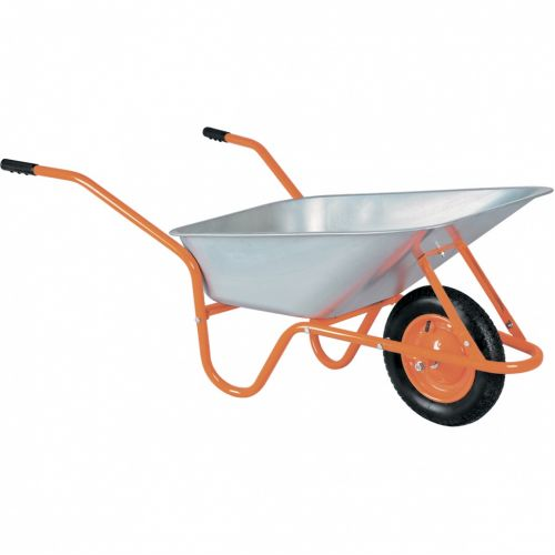 Тачка садово-строительная ТСО-02-03, ОЦ, 1 цельнолитое колесо, 120 кг, 90 л Россия - 68902