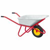 Тачка садово-строительная, усиленная, грузоподъемность 200 кг, объем 90 л Россия - 689218