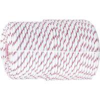 Фал плетеный полипропиленовый с сердечником, 24-прядный, 10 мм, бухта 100 м, 700 кгс Россия Сибртех - 93967
