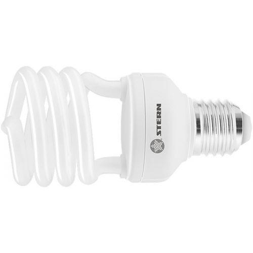 Лампа компактная люминесцентная, полуспиральная, 20 W, 2700K, E27, 8000ч Stern - 90903