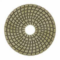 Алмазный гибкий шлифовальный круг ,100 мм, P50, мокрое шлифование, 5 шт. Matrix - 73507