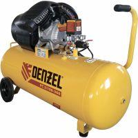 Компрессор воздушный PC 2/100-360, 2,3 кВт, 360 л/мин, 100 л, 10 бар Denzel - 58078
