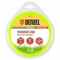 Леска для триммера, двухкомпонентная круглая 2,0 мм, 15 м Extra cord Denzel - 96127