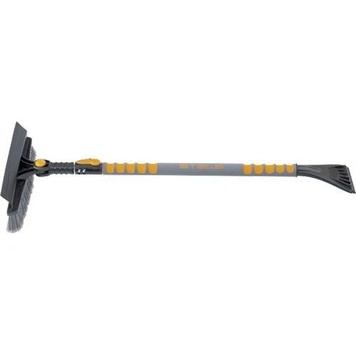 Щетка-сметка для снега со скребком телескопическая 900-1300 мм Stels - 55301