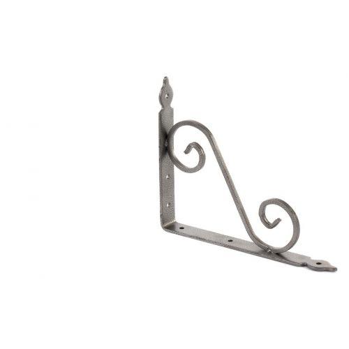 Кронштейн декоративный, 190 х 240 х 25 х 3.5 мм, темно-серый Сибртех - 94062