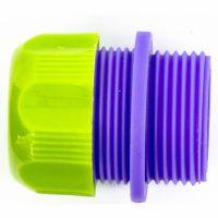 Соединитель пластмассовый, для шланга 1/2, с внешней резьбой 3/4 Palisad - 66145
