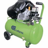 Компрессор воздушный КК-2200/50, 2,2 кВт, 350 л/мин, 50 л, прямой привод, масляный Сибртех - 58040