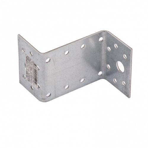 Крепежный уголок Z-образный, KUZ 35 х 70 х 55 мм, цинк Россия Сибртех - 46536