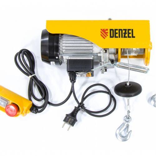 Тельфер электрический TF-250, 0,25 т, 540 Вт, высота 12 м, 10 м/мин Denzel - 52011