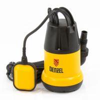 Дренажный насос DP250, 250 Вт, подъем 6 м, 6000 л/ч Denzel - 97221