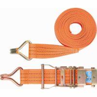Ремень багажный с крюками 0,05 х 10 м, храповой механизм Россия Stels - 54387