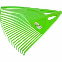 Грабли веерные пластиковые, 620 мм, 27 плоских зубьев, без черенка, Россия Palisad - 61709