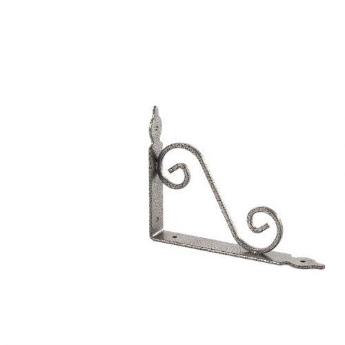 Кронштейн декоративный, 190 х 140 х 25 х 3 мм, темно-серый Сибртех - 94061