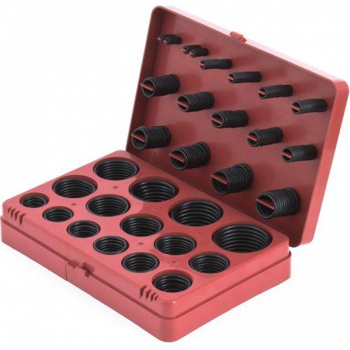 Набор резиновых уплотнительных прокладок, D 7-53 мм, 406 предмета Сибртех - 47597