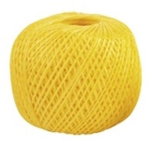 Шпагат полипропиленовый, желтый 400 м, 1200 текс Россия Сибртех - 93982