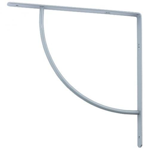 Кронштейн арочный, выгнутый, 150 х 150 х 20 мм, серый Сибртех - 94057