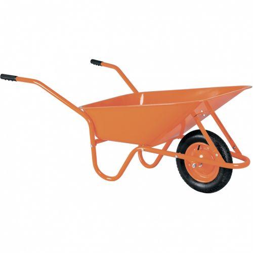 Тачка садово-строительная ТСО-02, крашенная, 1 пневмоколесо, 120 кг, 90 л Россия - 68908