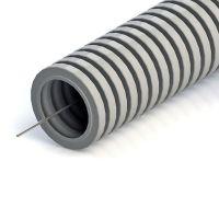 Труба ПВХ гофрированная Промрукав 14231 легкая с зондом d 40 мм