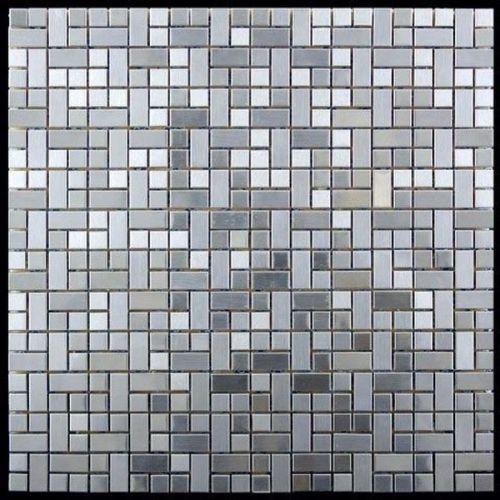 Мозаика из нержавеющей стали Natural Metall MM-20
