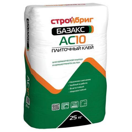 Клей для плитки Стройбриг Базакс АС10 25 кг