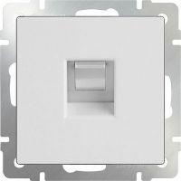 Механизм розетки телефонной Werkel WL01-RJ-11 белый